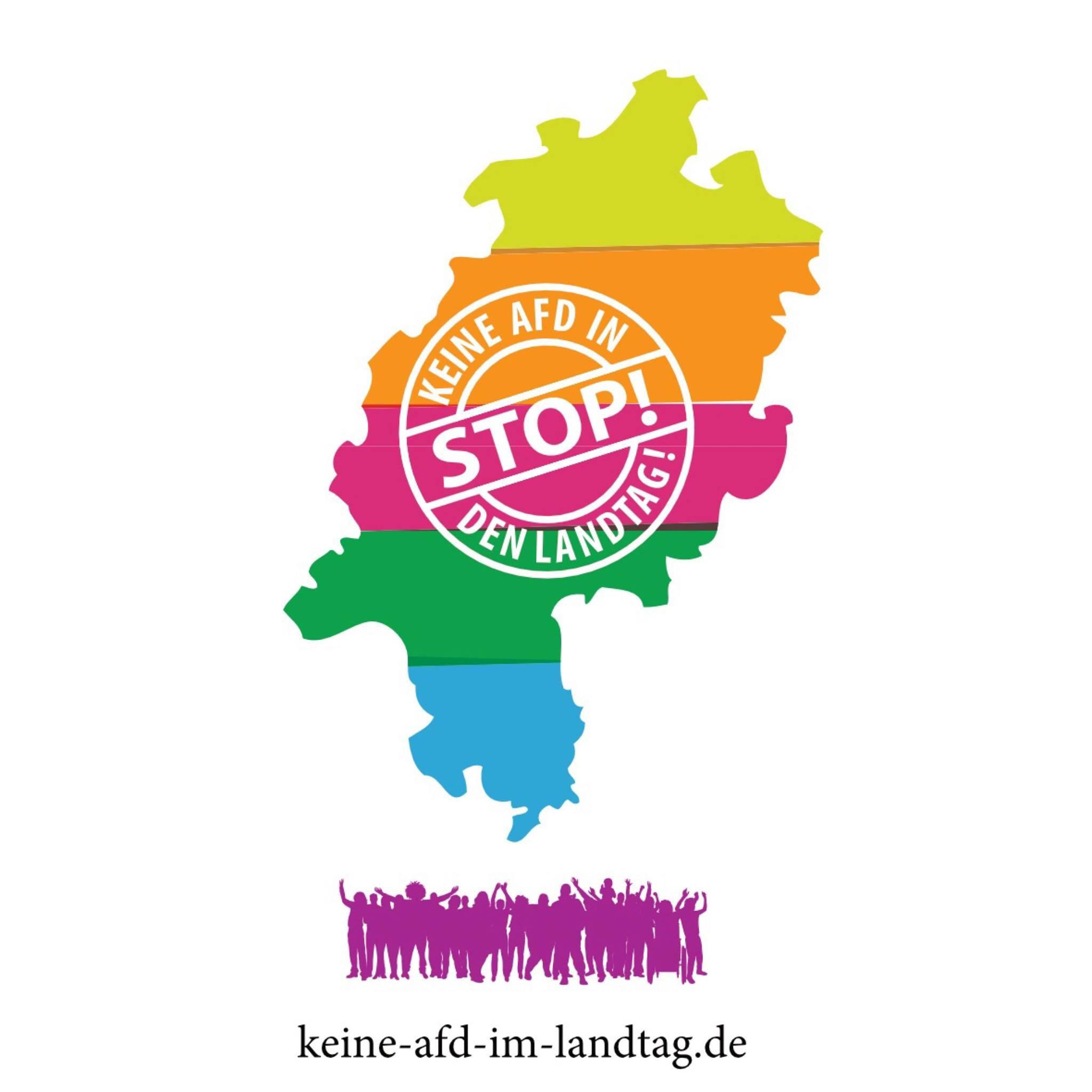 Keine AfD in den Landtag - Unterstützende Gruppen